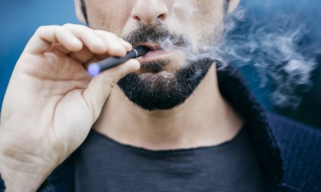 E-cigs ARE dangerous: Vaping raises risks of stroke by 70%