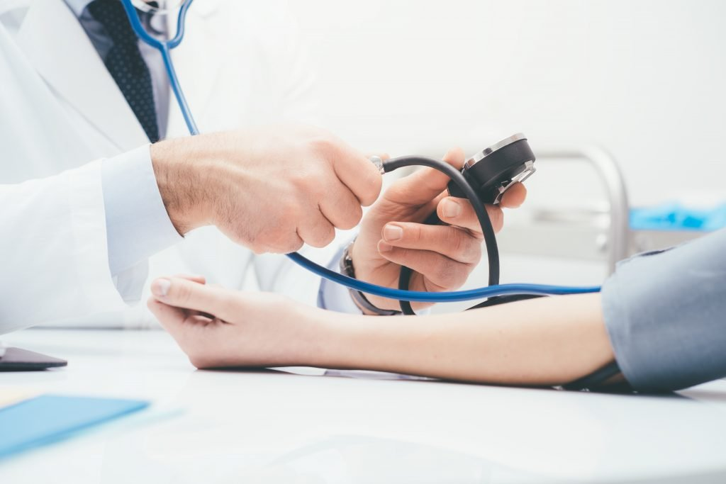 High blood pressure: the blood pressure without medication lowering