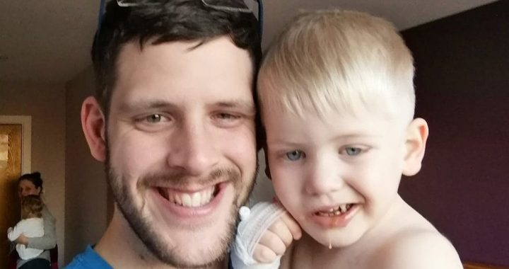 Parents learn son's 'crooked smile' is actually symptom of deadly brain tumor: 'We are broken'