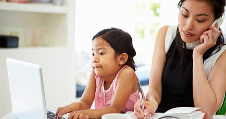 Kids are spending more 'alone-together time' with parents. What does it mean?
