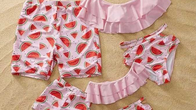 7 Mommy and Me Swimsuits from Amazon That Are Ridiculously Cute — All Under $20