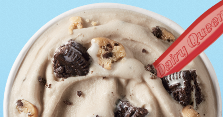 Dairy Queen April Blizzard Is Filled With Oreos AND Cookie Dough, So It's Going to Be a Good Month