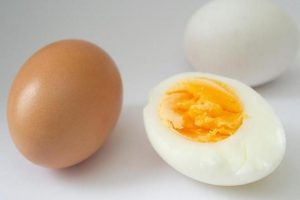 Egg-Yolk has blue stitch – when you can eat it anyway
