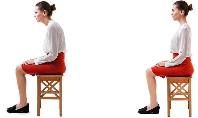 Slouching 'could be GOOD for your back'