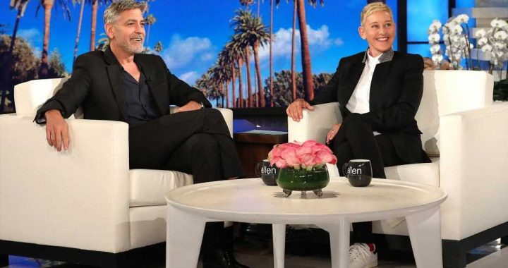 George Clooney Says Twins Sometimes Pick Up Mom Amal's British Accent: 'Got to Fix That'