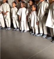 North & Saint West Join Penelope Disick in Adorable Rendition of 'Nothing Compares 2 U' at Kanye's Sunday Service
