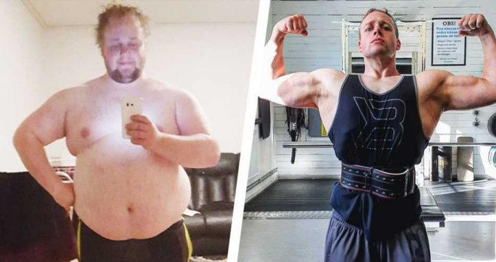 This Powerlifter Lost 180 Pounds With Small Changes to His Diet and Workout