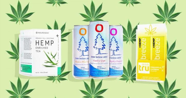 We Tried 4 CBD-Infused Beverages & Here's What Happened
