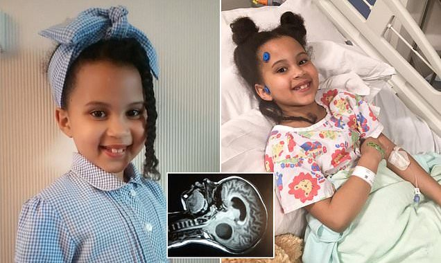 Girl is diagnosed with a brain tumour after a trip to Specsavers