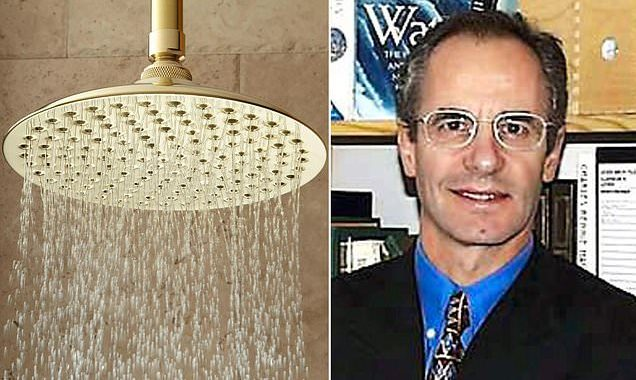 Doctor who runs his shower for 20 minutes when he's back from holiday