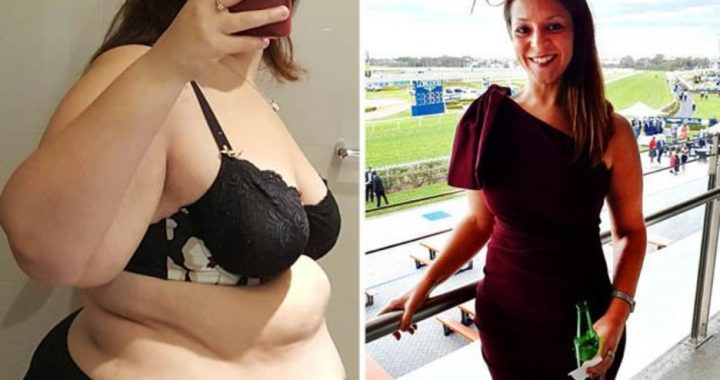 Woman sheds 12st and eight dress sizes after becoming 'too big' for plane seats