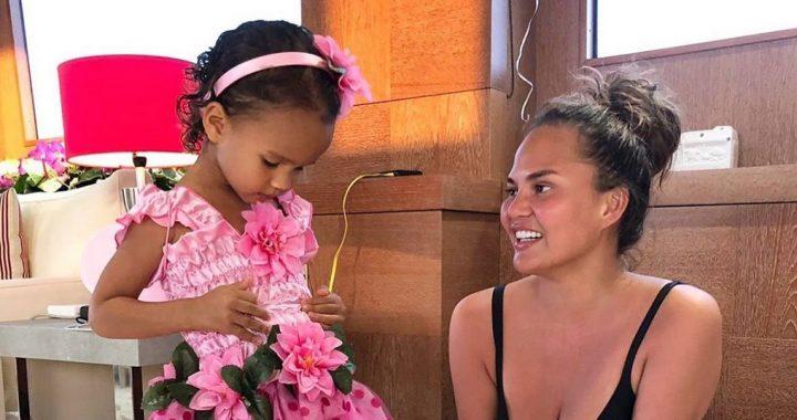 Chrissy Teigen Thinks Daughter Luna Has a Career as a Model