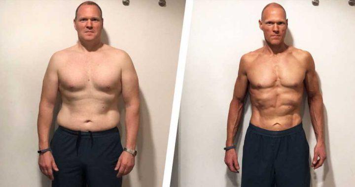 A Few Tweaks to His Diet Helped This Guy Get Ripped in His Forties