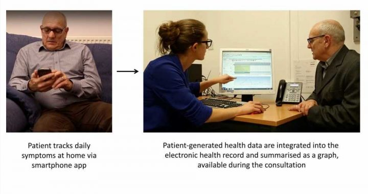 Smartphones could transform patient care, finds study