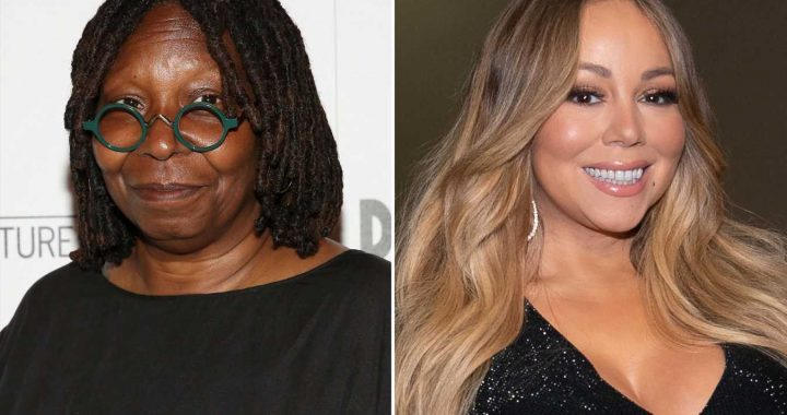Whoopi Goldberg Says She and Mariah Carey 'Are Good' After She's Accused of Body Shaming Singer