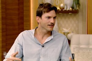Ashton Kutcher Broke His Toe Trying to Put His Daughter Wyatt to Bed: 'I Just Go Down'