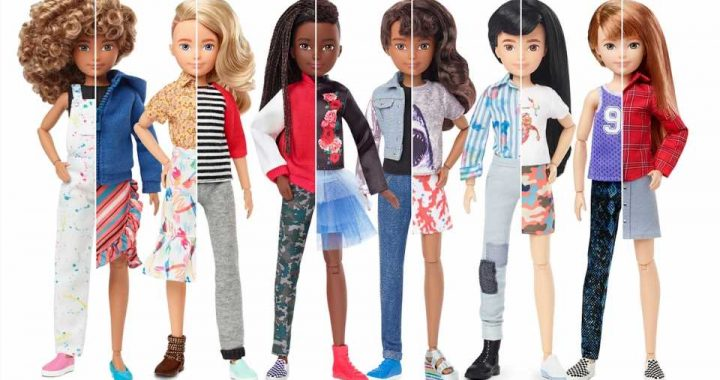 Mattel Launches Its First Gender-Neutral Doll, 'Designed to Keep Labels Out'