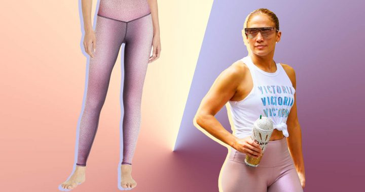 Jennifer Lopez Shows Off Abs in Her Latest Bold Gym Look—Shop Her Exact Leggings Here