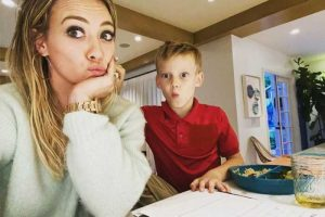 Hilary Duff Struggles with Her Son's Homework: 'I Stopped Going to Real School in 3rd Grade'
