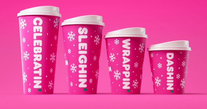 Dunkin' Is Bringing Back Peppermint Mocha Coffee For Its New Holiday Menu