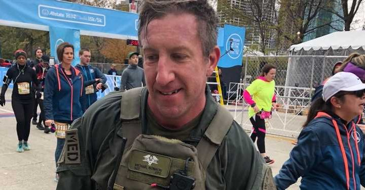 Chicago SWAT Member Races 15K in Gear, Saves Life, and Proposes to Girlfriend