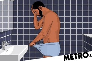 Men touch their balls an average of seven times a day