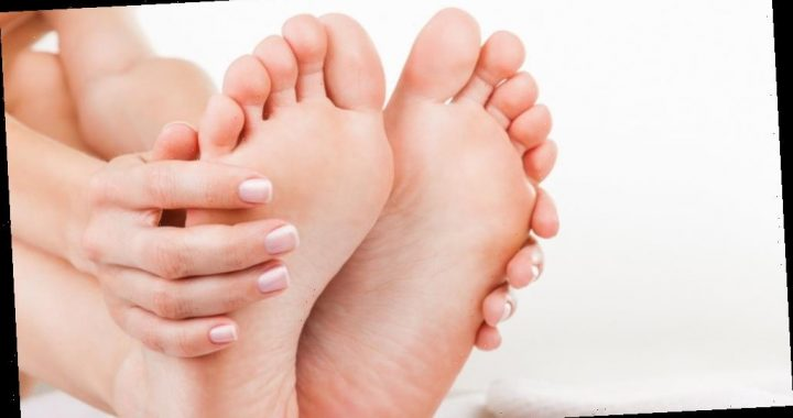 What does it mean when your toenail turns black?