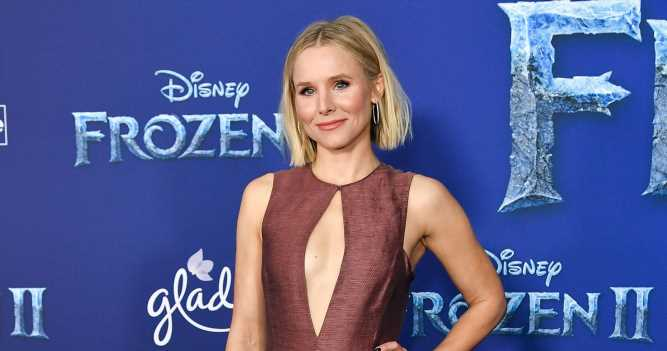 Kristen Bell Jacks Up Daughter's Bed After She 'Pukes on the Carpet'
