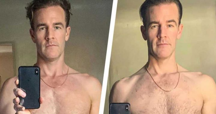 James Van Der Beek Looks Even More Ripped in New Shirtless Selfie