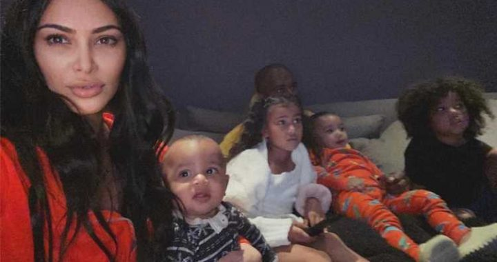 Kim Kardashian Says Home-Schooling Her Kids During Coronavirus Social Distancing Is 'Insanity'