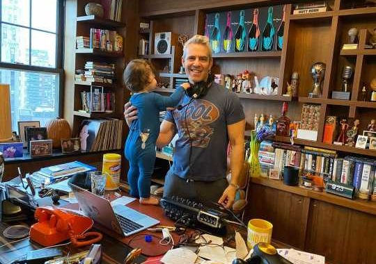 Andy Cohen Opens Up About Coronavirus Symptoms and Reuniting with Son Benjamin After Quarantine