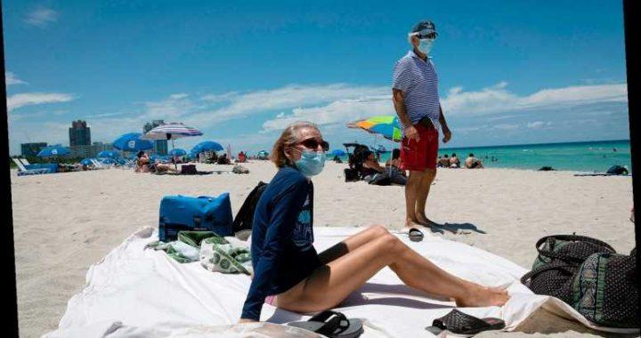 Florida Reports Its Highest Single-Day New Coronavirus Cases So Far at 3,822