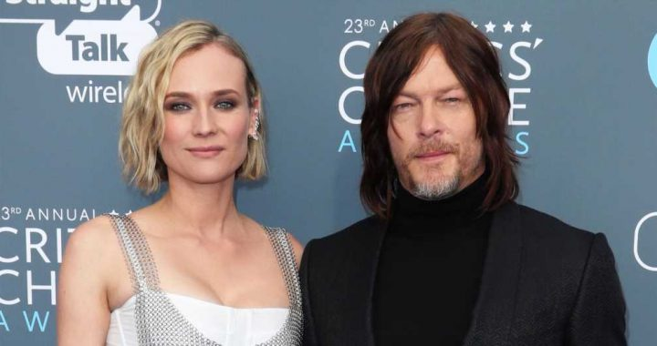 Diane Kruger Shares Photos of 'Handsome Papa' Norman Reedus With Their Baby