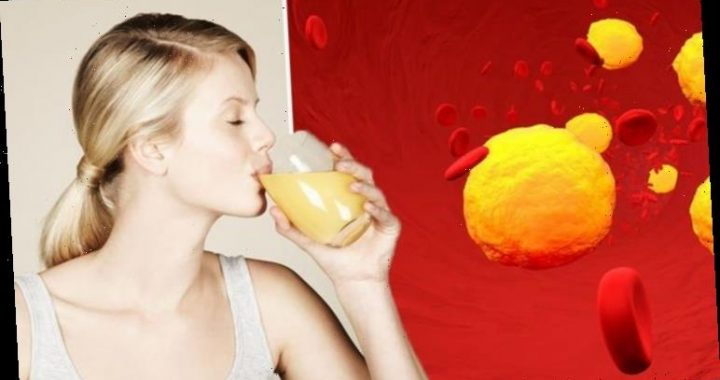 High cholesterol: The fruit juice shown to lower 'bad' cholesterol and high blood pressure