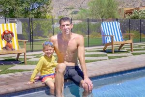 Michael Phelps and Son Boomer, 4, Team Up with PAW Patrol to Teach Kids About Water Safety
