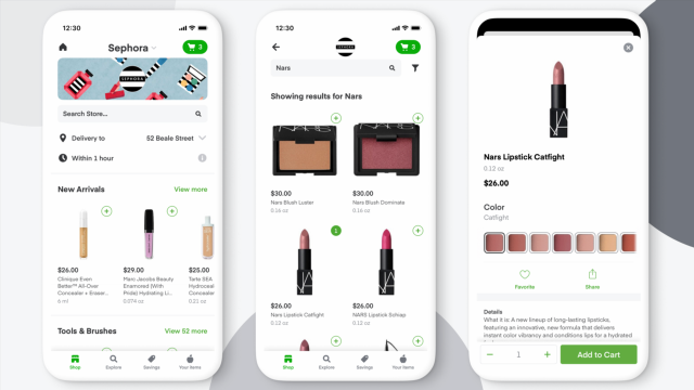 Important News: Sephora Is Now on Instacart