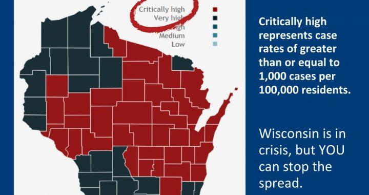 Wisconsin creates 'critically high' coronavirus activity category amid surge in cases
