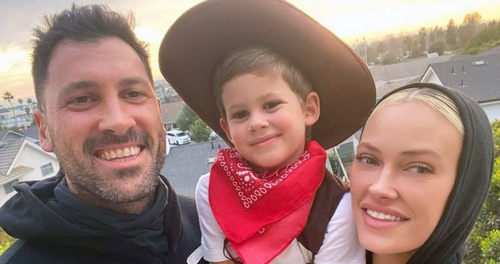 Maksim Chmerkovskiy, Peta Murgatroyd's Son, 3, Looks Like Dad in New Pic