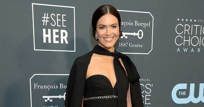 Working Mom! Mandy Moore Was 38 Weeks Pregnant Filming Latest 'This Is Us'
