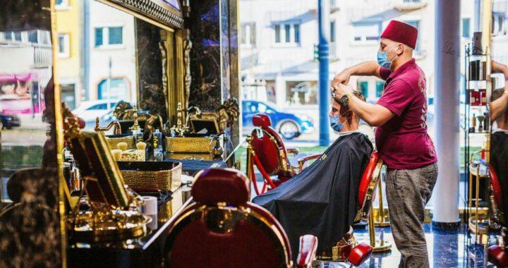 Locks down: German hairdressers reopen despite virus fears
