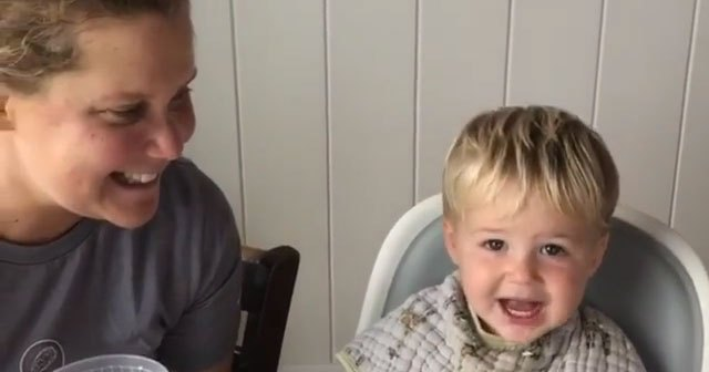 LOL! Amy Schumer Uses Son Gene as a 'Bribe' in Voting PSA