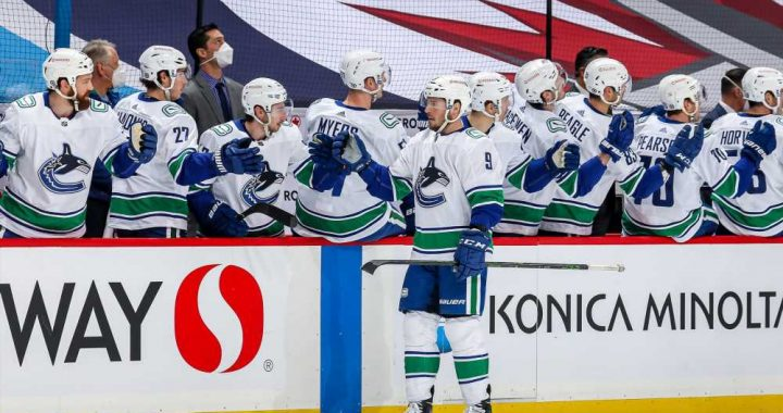 More Than Half of NHL's Vancouver Canucks Have COVID with 'Intense' Symptoms