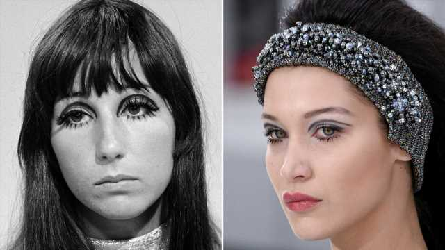 How to Do That '60s Mod Eye Makeup That's All Over TikTok