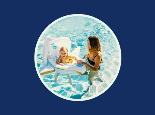 Mommy & Me Pool Floats Are Now a Thing Thanks to Funboy's Seriously Cute New Baby Line