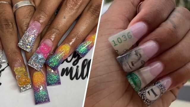 Duck Nails Are TikTok's Most Unexpected Nail Trend